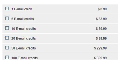 Uadreams email credits
