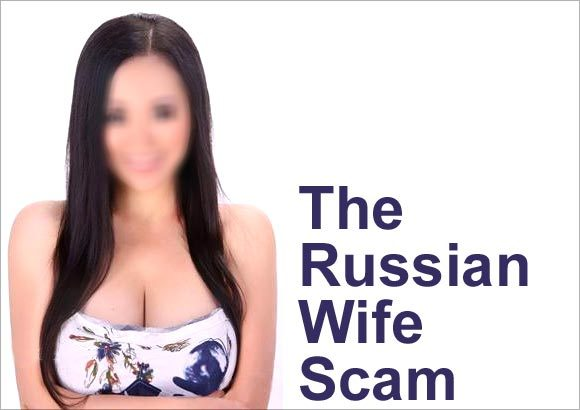 photo: dating scams russian ideal woman